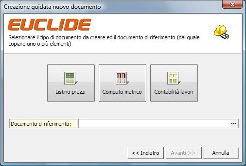 Creazione guidata documenti