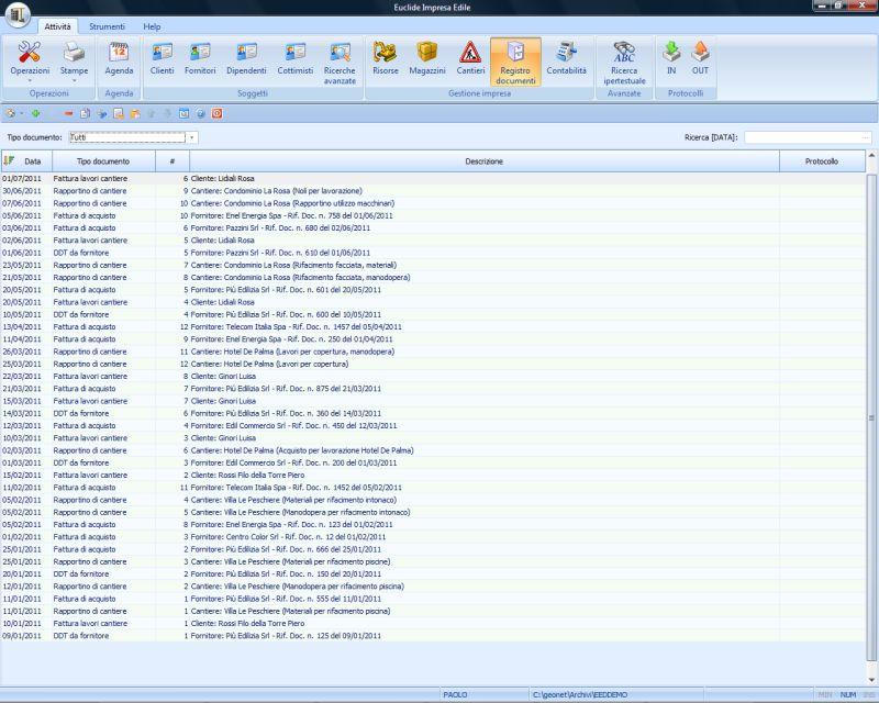 31edfebd23 Euclide Impresa Edile - Software per la gestione di imprese edili ed ...