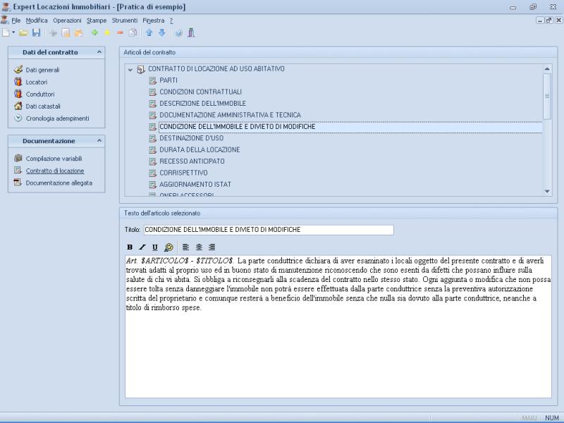 Expert locazioni immobiliari software per la gestione di for Calcolo istat locazioni