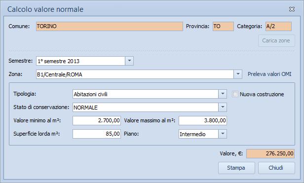 Expert trasferimenti immobiliari software per la - Calcolo valore commerciale immobile ...