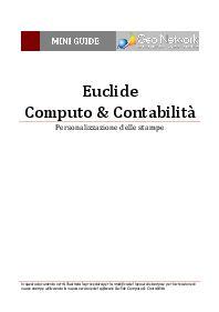 Euclide computo contabilit software per la gestione dei lavori pubblici e privati - Prezzario camera di commercio ...