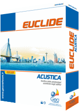Euclide Acustica EdificiSoftware per la verifica della rispondenza dell'isolamento acustico di progetto alle prescrizioni del D.P.C.M. 5/12/1997