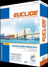 Euclide Certificazione EnergeticaSoftware per la verifica delle dispersioni termiche, il calcolo del fabbisogno energetico e la certificazione energetica (normativa nazionale e varie normative regionali). Stampa dell'attestato di prestazione energetica (APE). Esportazione XML per catasti energetici regionali. Relazioni tecniche ex Legge 10.