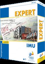 Expert IMU & TASISoftware per la gestione professionale degli adempimenti e dei calcoli relativi all'IMU ed alla TASI. Calcolo delle imposte. Stampa di modelli di versamento. Stampa della dichiarazione IMU. Database delle aliquote IMU e TASI comunali.