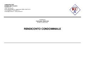 Rendiconto condominiale