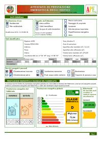 Euclide certificazione energetica software per la - Certificazione energetica e contratto di locazione ...